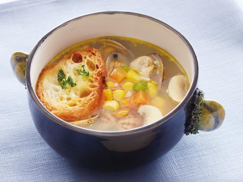 ミックス ベジタブル スープ